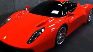 法拉利f70:未来将替代Enzo