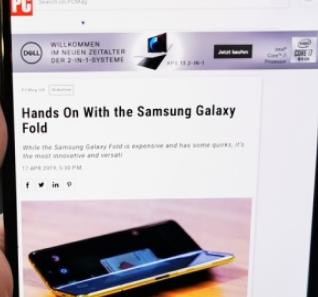 这是三星对GalaxyFold所做的所有更改