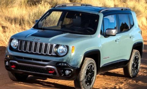 jeeprenegade:即将实车亮相 Jeep Renegade官图发布