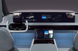 三星的下一代智能汽车数字驾驶舱到处都有大屏幕