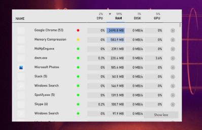 新的现代Win10任务管理器已内置于XboxGameBar中