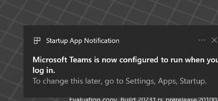 微软win10已经让用户能够100%控制自启动应用