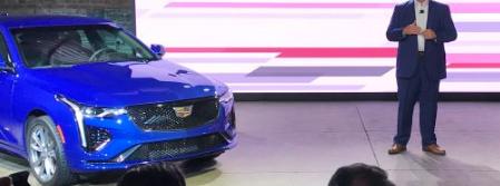 凯迪拉克推出CT4-V和CT5-V性能轿车
