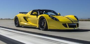 VenomGTSpyder是世界上最快的敞篷车