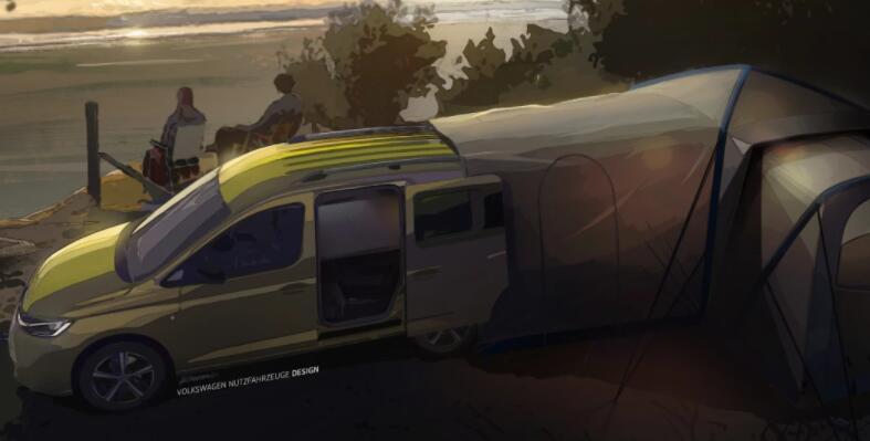 大众汽车可通过新型迷你露营车进行扩展