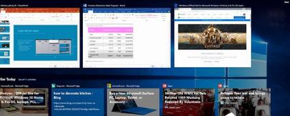 微软在Win10四月更新还提供了其他很多出色的全新功能