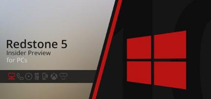 微软今天向SkipAhead推送了最新的Win10RS5跳跃预览版更新17655