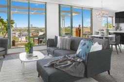 地理位置优越的大型公寓在悉尼的周末拍卖市场上卖得很好