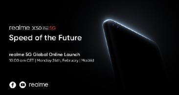 realme真我X50Pro5G也将在发布会上与我们见面