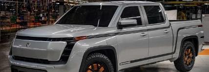 洛兹敦耐力电动卡车原型与四个电动马达一起发布
