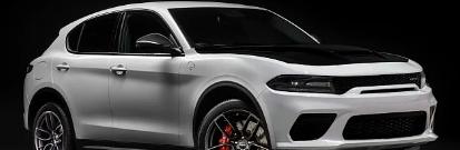 2023年道奇之旅SUV复兴采用风格底盘进行渲染