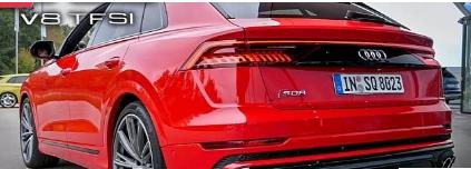 2021年奥迪SQ8全新4.0升TFSI V8听起来很残酷