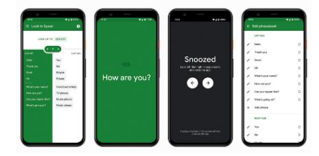 谷歌LooktoSpeak应用程序可让有语言障碍的用户与他们的眼睛交流
