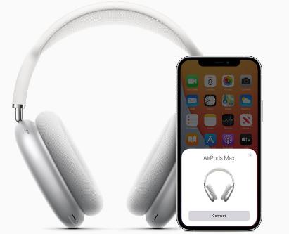 苹果AirPodsMax耳机推出续航时间长达20小时售价为卢比59900