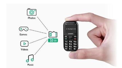 Zanco手机公司生产的Zanco Tiny T2今日开始接受预定