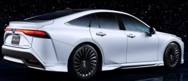 2021年丰田Mirai Modellista对于氢动力汽车看起来非常整洁