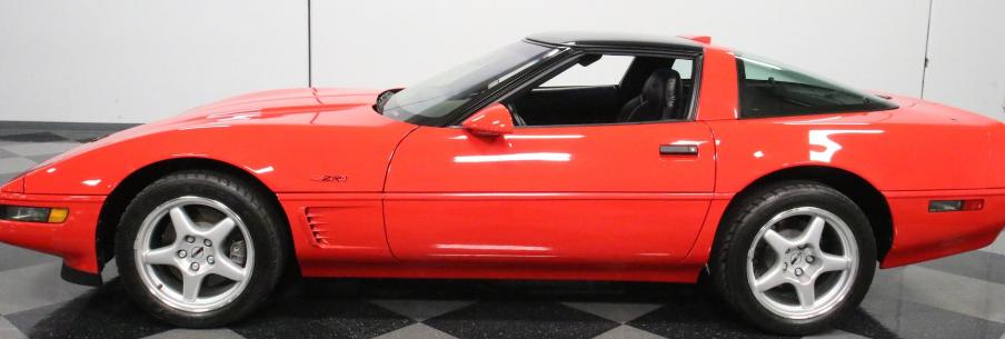 这款1995年的雪佛兰Corvette ZR-1仅显示27英里也非常稀有