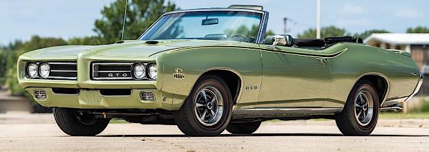 有人对这笔少有的1969年庞蒂亚克GTO法官说不79K