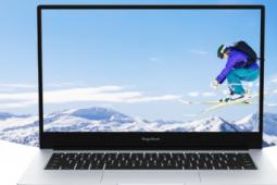 荣耀MagicBook 14 SE采用了全面屏三边微边框设计