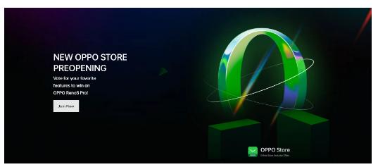 OPPO将于5月7日开设新的在线商店