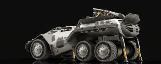BizZon研究是一种未来的支援车辆可以在任何地方使用一天