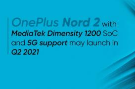 具有Dimensity 1200 SoC的OnePlus手机预计将很快推出