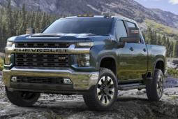 2020 年雪佛兰 Silverado HD 的成本低于外运卡车