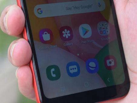 三星Galaxy A01的Android 11更新开始在推出