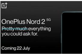 OnePlus Nord 2现在确认由联发科天玑1200 SoC提供支持