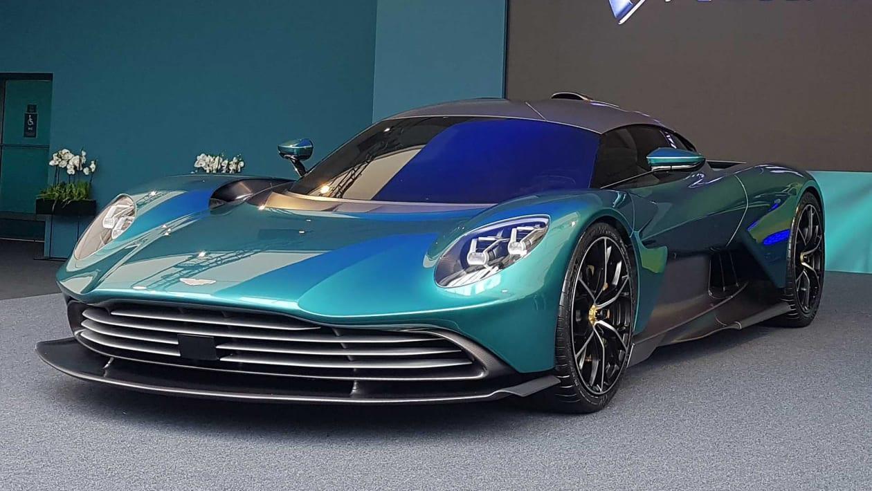 全新阿斯顿马丁瓦尔哈拉超级跑车搭载937bhp混合动力