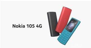 全新的诺基亚105 4G迎来了跨越式进步