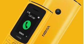 诺基亚110 4G和诺基亚105 4G都是最基本的功能手机