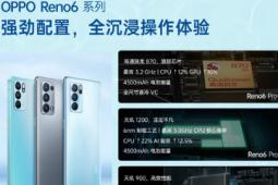 OPPO Reno6系列均前置3200万像素水光镜头
