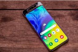 Galaxy A80 是三星首款配备旋转三重摄像头的智能手机
