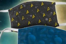 ViacomCBS正在为慈善事业出售可重复使用的星际迷航口罩