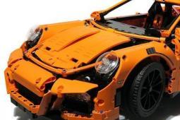 保时捷 911 GT3 RS 乐高玩具评测