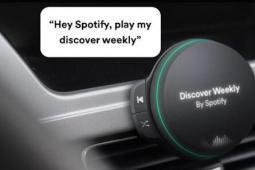 Spotify车载播放器展示语音控制的4G音乐流媒体